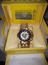 Relógio invicta hibrid na caixa com manual certifi