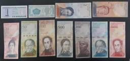 Cedulas para colecionar Todas por R$75