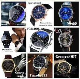 0ed0055ba69 Relógios masculinos casuais