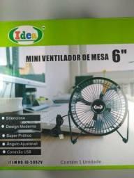 Mini Ventilador de Mesa Portátil 6