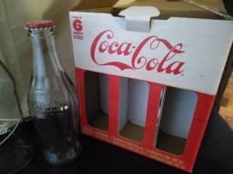 Garrafinhas coca cola retrô