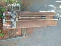Cortadora de piso manual + Cuba + Materiais hidráulicos