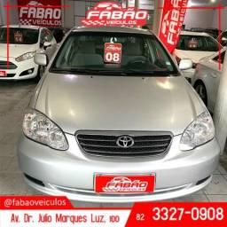 (FABÃO VEÍCULOS) Corolla XLI 1.8 2008 - 2008