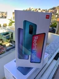 Pra Esquentar!  Redmi Note 9  Da Xiaomi.. Novo Lacrado com Garantia e Entrega.