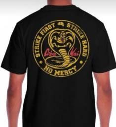 Camiseta Cobra Kai - produto novo