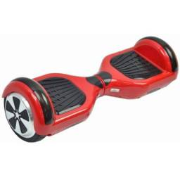 Hoverboarde preto e vermelho