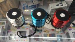 Mini Caixa de Som Portátil Speaker Bluetooth (fazemos entrega) 1 mês de garantia