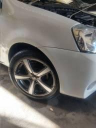 Rodas 17x205x45 completa com 04 pneus novos