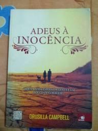 Livro  : Adeus a inocência - semi novo