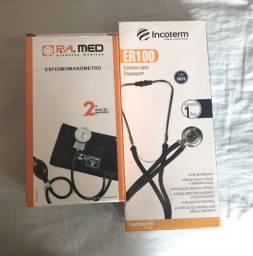 Kit Esfigmo + Estetoscópio