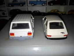 Miniatura Fiat 147ou Gurgel BR 800 R$ 79, cada modelo