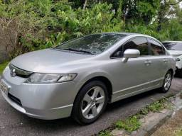 Honda civic LXS automatico 2008 abaixo da fipe