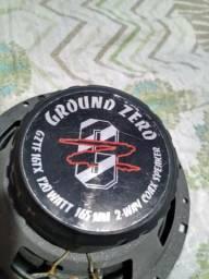 Coaxial 6 polegadas Ground Zero comprar usado  Diadema