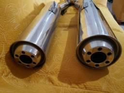 Ponteira original cbr 1100xx - semi novo