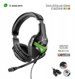 Headset Gamer Warrior pc ps4 xbox one P2 Stereo - PH298
