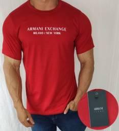 Camisa Camiseta Armani Masculina Premium
