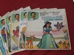 Antiguidade Coleção de vinis de histórias contadas por Silvio Santos