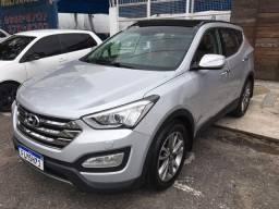 Vendo ou troco Hyundai Santa Fe , 7 lugares , teto panorâmico , impecável financio