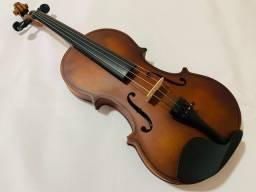 Violino Jahnke Estudante Envelhecido Fosco