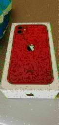 IPHONE 11 RED(NOVO) ACESSÓRIOS INCLUÍDOS NF E GARANTIA