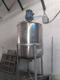 Tanque de Inox para Fabricar Tintas