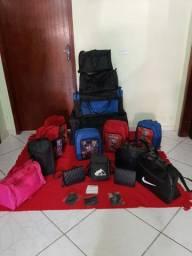 Bolsas esportivas mochilas e acessórios.