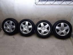 Rodas VW Polo c/pneus