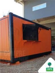 Cozinha/Lanchonete em Container 15m²