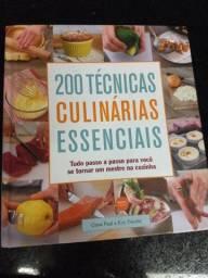 Livro 200 técnicas culinárias essenciais