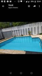 Casa com piscina em vilas do atlântico