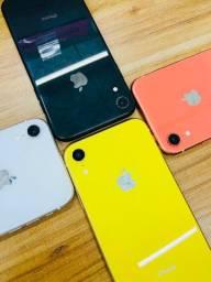 iPhone XR pronta entrega bateria 100% > 64gb e 128gb
