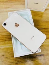 Boa tarde >> iPhone 8 dourado pronta entrega semi