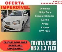Toyota Etios HB X 1.3 Flex