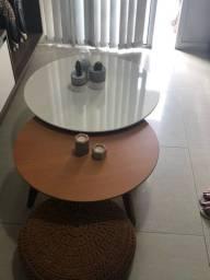 Vendo conjunto mesas redonda