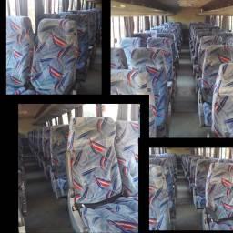 Bancos semi leitos do ônibus Buscar 2004