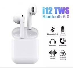 Fone de Ouvido i12 TWS Bluetooth 5.0 com Sensor Touch para android e ios