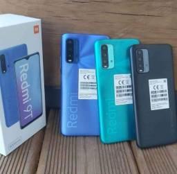 Redmi 9T 64gb Azul, cinza l, verde, laranja