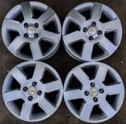 Rodas aro 15+4 pneus 185/60 R15 DUNLOP!(1.900$ até 10x sem juros)