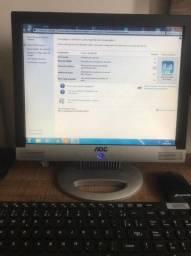 Computador SSD + Monitor + Teclado e mouse