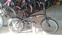 Título do anúncio: Bicicleta Dobrável Portátil Leve