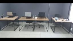 Mesa estilo Industrial 90x90 . Ler descrição