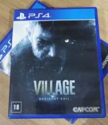 Jogo Ps4 Resident Evil Village R$ 200