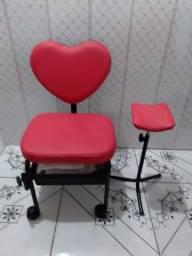 Cadeira Manicure + Tripé Pedicure