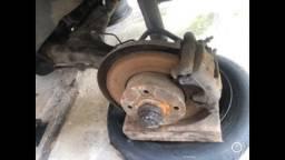 Kit de freio a disco traseiro do golf gti/glx mk3 94a98