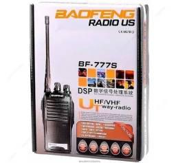Lote 2 Rádio Comunicador Walk Talk Baofeng Bf-777s