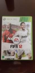 Jogo :Fifa 12 Xbox 360 travado