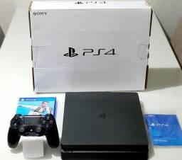 PS4 SLIM 1 TERA  + FIFA 19