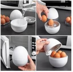 Título do anúncio: Recipiente para cozinhar ovos microondas prático e saudável - c286