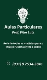 Aulas Particulares professor Vitor Luiz