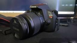 Câmera Profissional CANON T5 Novíssima
